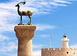 Символ города Родос