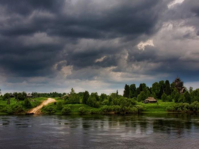 Потрясающий пейзаж Томской области фото