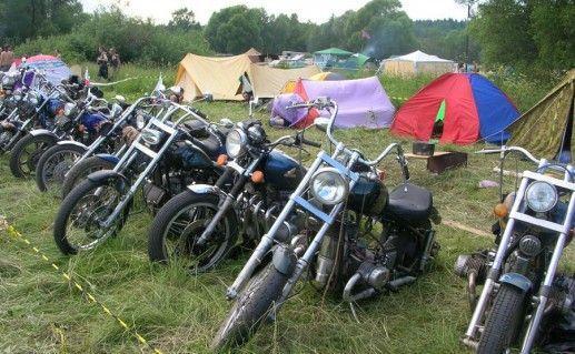 проведение мото-рок фестиваля в Малоярославце фото