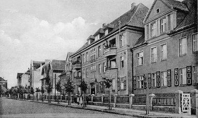 Линденштрассе (Липовая улица). Начало XX в.