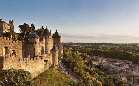 Город-крепость Каркасон - Что посмотреть в окрестностях Альби (Albi), Франция - города и достопримечательности вокруг Альби, как добраться - расписание, цены. Путеводитель по Альби
