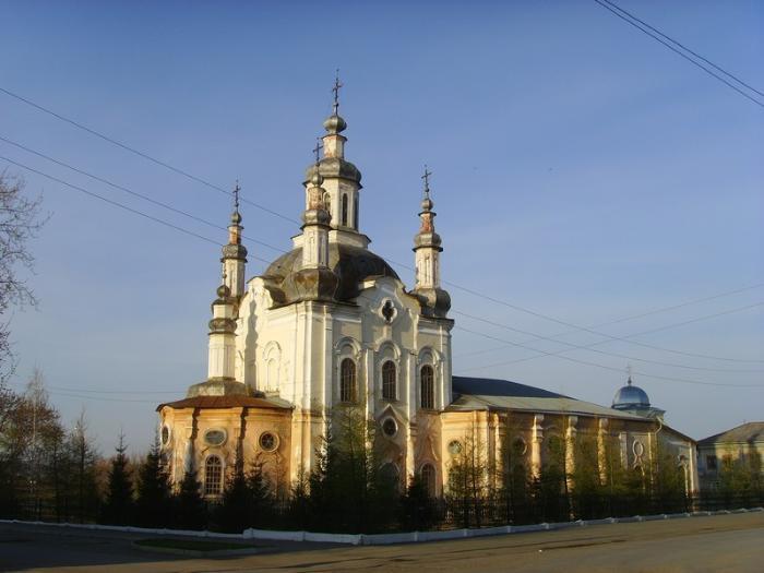 Спасо-Преображенский собор, Шадринск