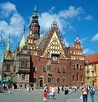 Достопримечательности Вроцлава в Польше