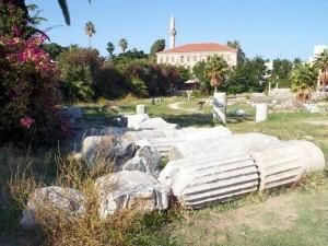 Агора античного города Кос Мечеть Хаджи Хасана