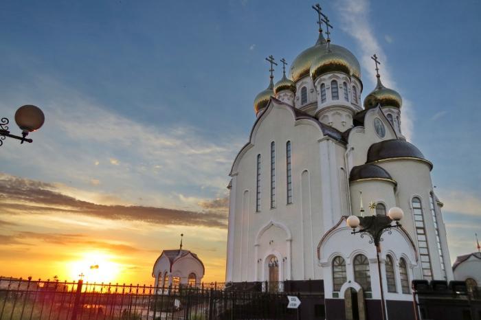 собор Рождества Христова, Волгодонск, новый город