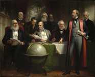 Заседание Правительства Нью-Йорка 200 лет назад