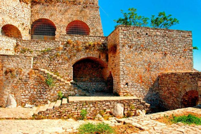 Крепость Паламиди в Греции