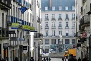 улица L'lle Feydeau в Нанте