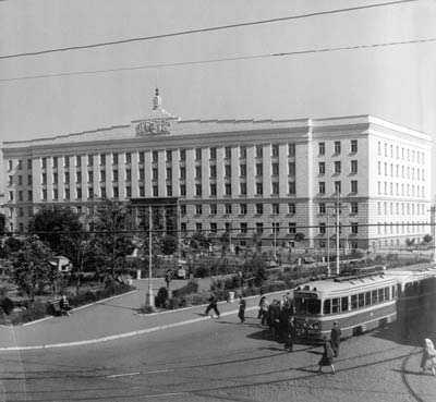 г. Шахты, Центральная площадь города, 1950 г.