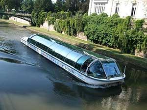 Речной трамвайчик в Страсбурге
