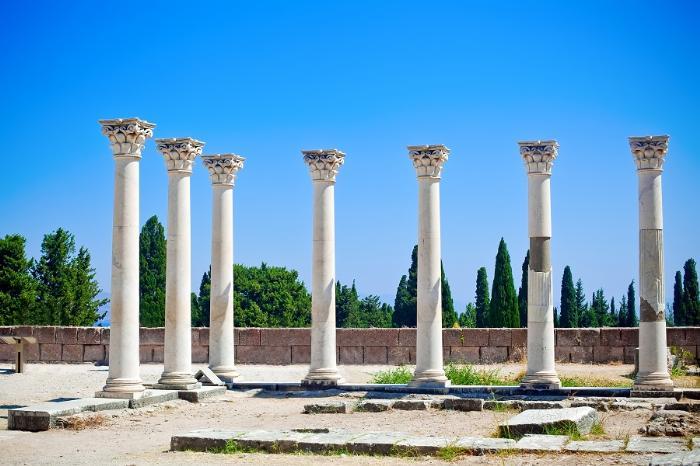Храм Асклепия в Эпидавре. Пелопоннес, Греция.