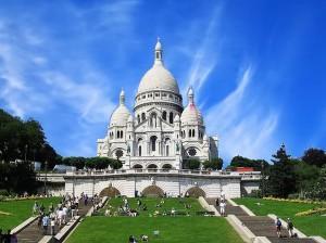Церковь Сакре-Кер гора Монмартр, Париж