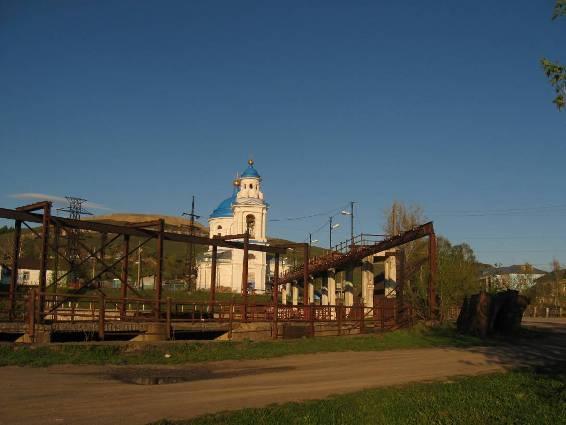Храм в Миньяре, Челябинская область