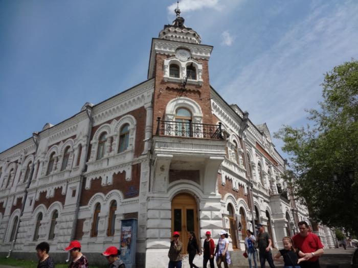 Краеведческий музей им. Г. Новикова-Даурского