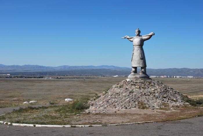 Памятник Кадарчы, Кызыл