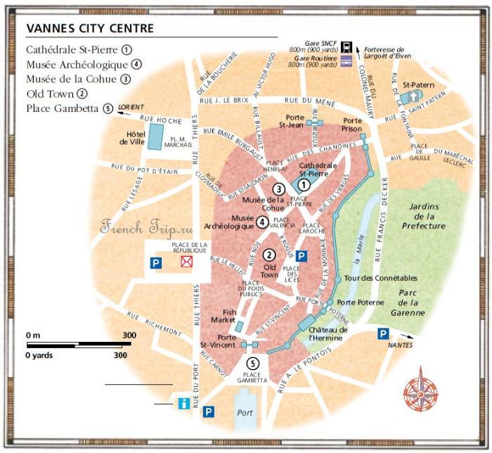 Карта центра города Ванн (vannes) с отмеченными достопримечательностями - Vannes (Ванн), Бретань, Франция - достопримечательности, путеводитель, туристический маршрут по городу с картой. Vannes (Ванн), Бретань, Франция - достопримечательности, путеводитель, туристический маршрут по городу с картой. Что посмотреть, как добраться, расписание Vannes, поезд Vannes, расписание поездов Vannes, Vannes путеводитель, Vannes что посмотреть, Vannes фотографии, Vannes достопримечательности, Vannes в окрестностях, Бретань, Бретань Франция, достопримечательности Бретани, города Бретани, путеводитель по Бретани, Бретань путеводитель, Франция, города Франции, путеводитель по Франции, что посмотреть во Франции, Франция путеводитель, франция путеводитель скачать бесплатно, туристический маршруты с картой скачать бесплатно