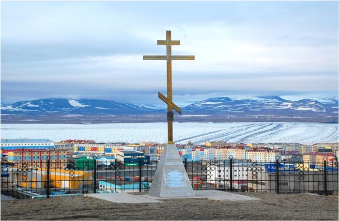 Поклонный православный крест, Анадырь