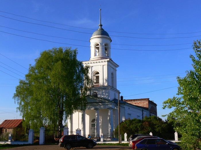 Церковь Рождества Пресвятой Богородицы. г. Орлов
