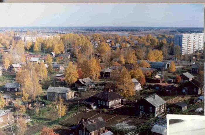 Дореволюционные постройки, Сыктывкар