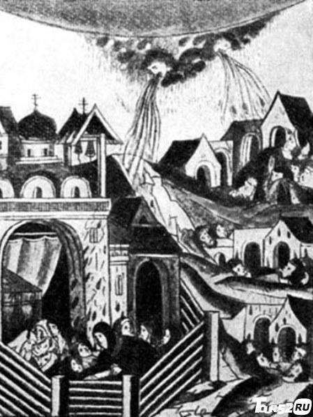 Изображение Городца в летописи