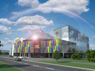 Проект нового цирка в Пензе