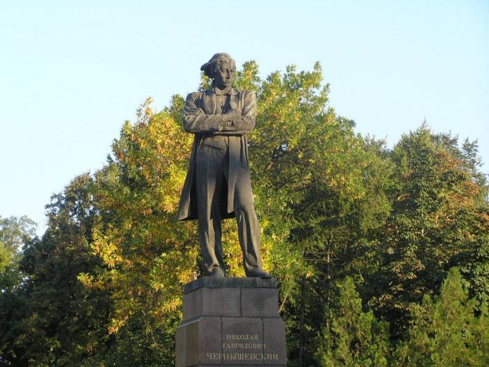 Памятник Н. Чернышевскому