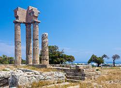 Акрополь на горе Монте-Смит, Родос