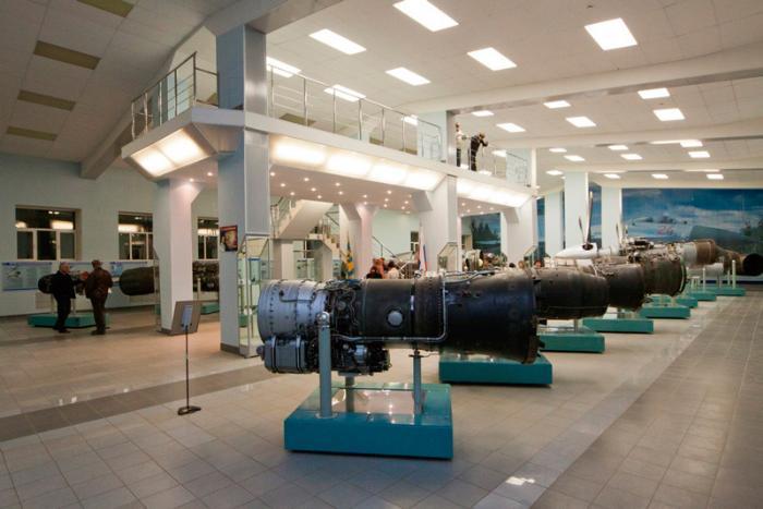 двигатели в Музее истории авиационного двигателестроения и ремонта