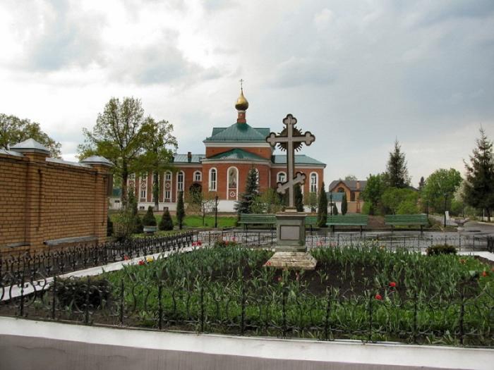 Покровско-Васильевский монастырь вид