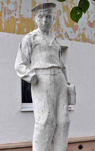 Скульптура юнги