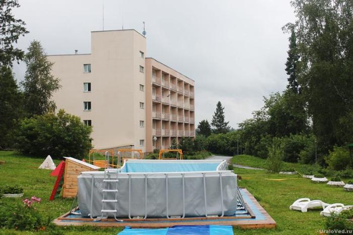 Курорт-санаторий Нижние Серги