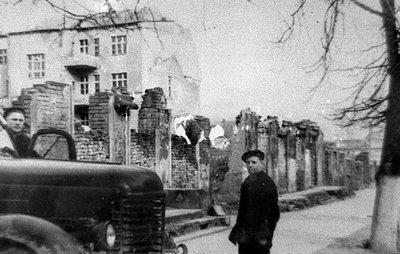 Послевоенная улица. 1948 г.