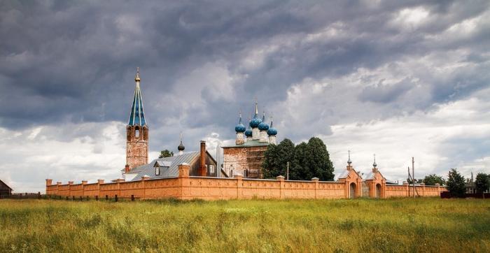 Село Дунилово. Благовещенская церковь