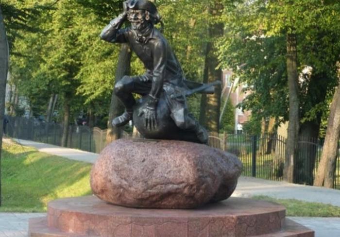 Скульптура «Барон Мюнхгаузен»