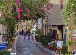 Улочки района Плака, Афины