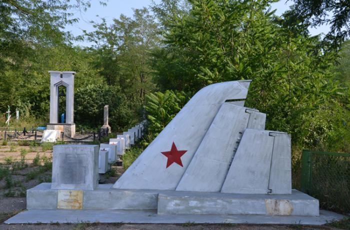 Памятник погибшим лётчикам