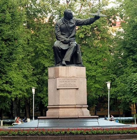 Памятник Поликарпову Н.Н.
