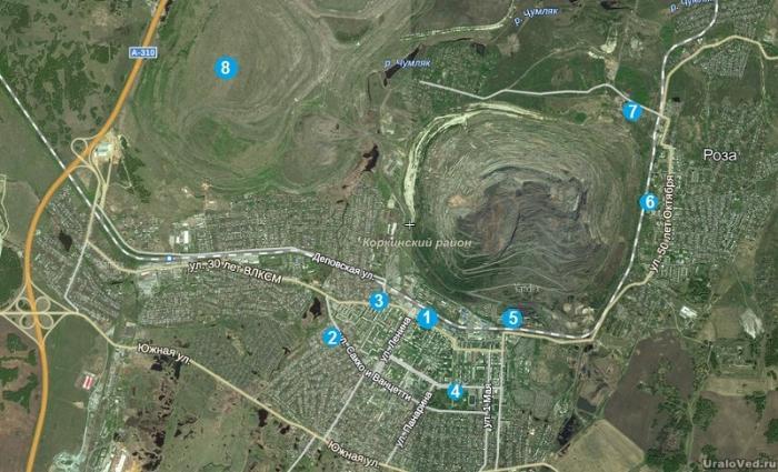 Достопримечательности города Коркино