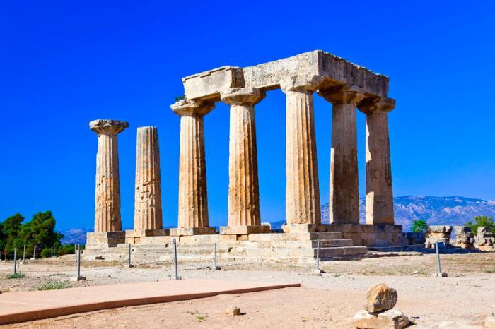 Древний Коринф в Греции