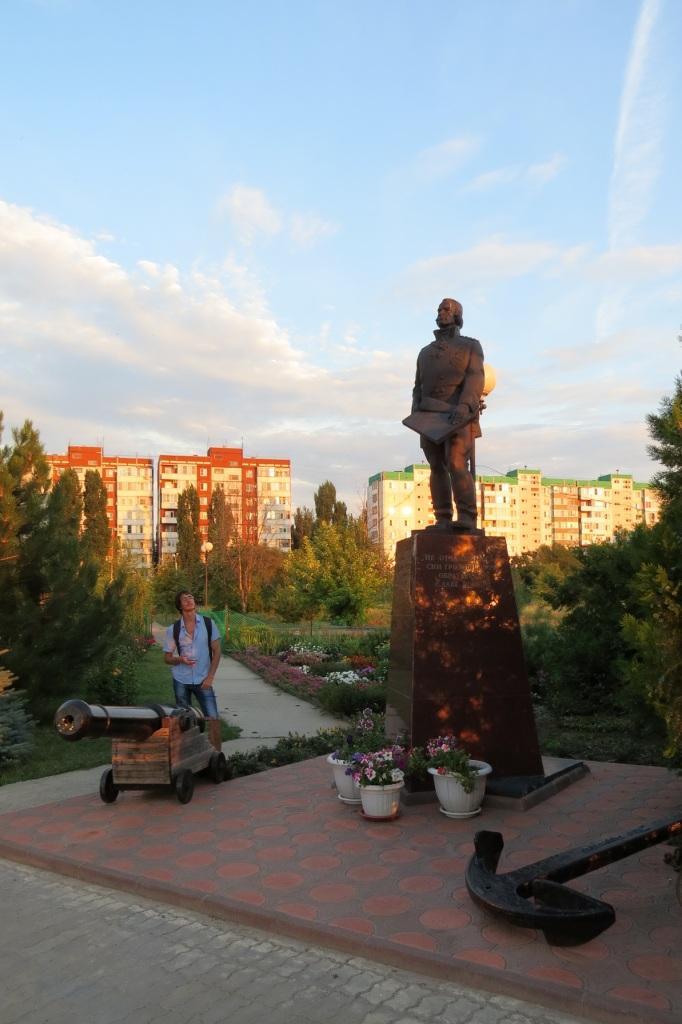 Волгодонск, новый город, Ушаков