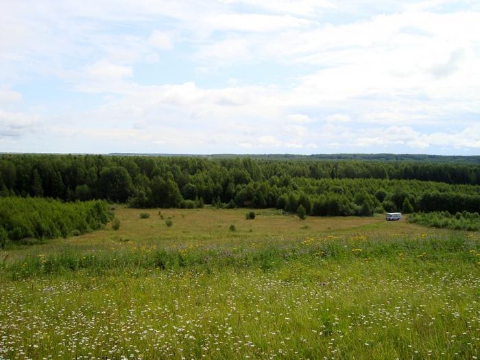 Окрестность с. Гидаево, вид с Бурковой горы