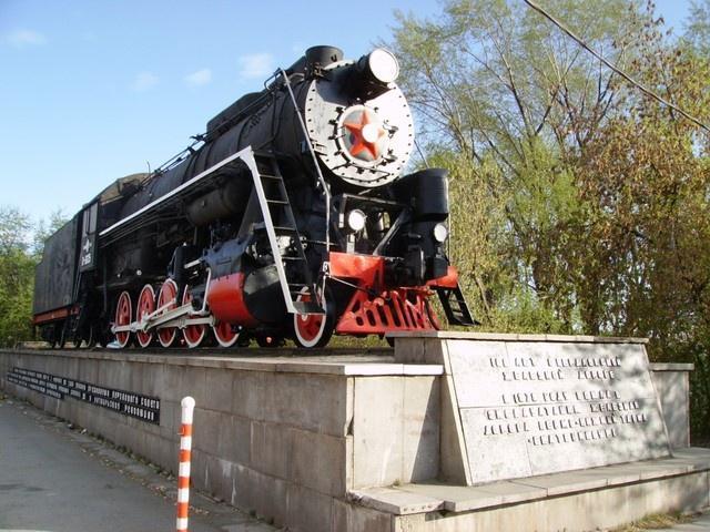 Паровоз-памятник, Нижний Тагил
