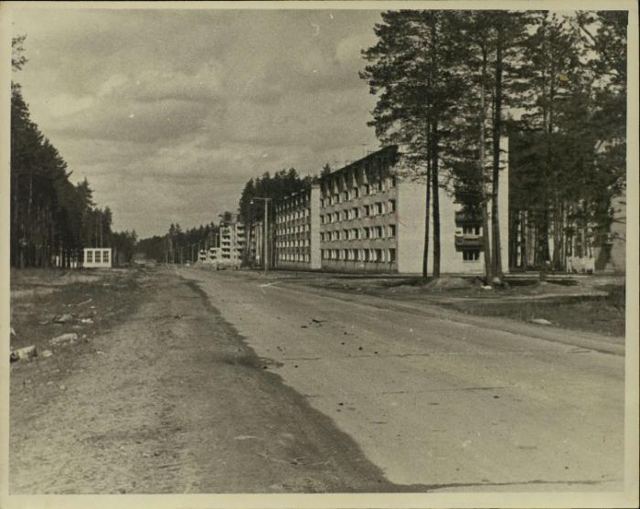 ул. Ленина 1 и 3 начало строительства ул Ленина 1968