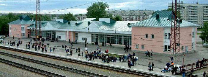 Вокзал в г. Заринске