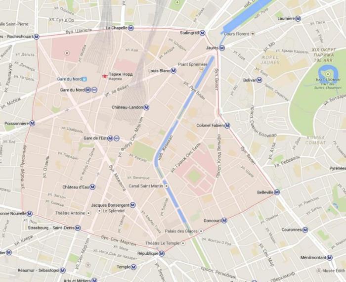 10 округ Парижа– Анкло Сен-Лоран
