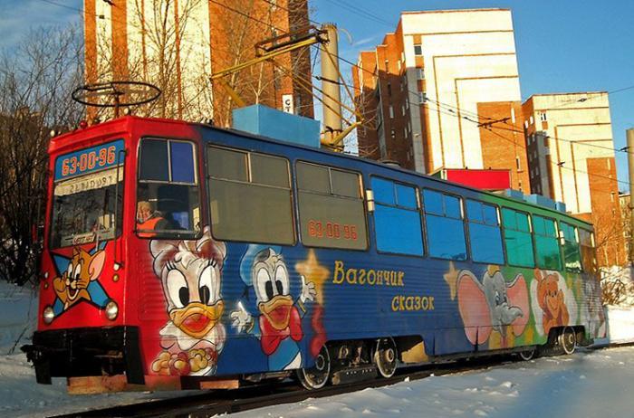 Златоустовский трамвай