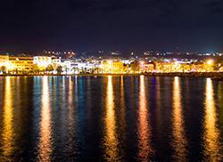 Ночной город Ретимно