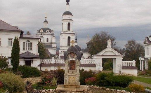 фото часовни в Малоярославецком монастыре