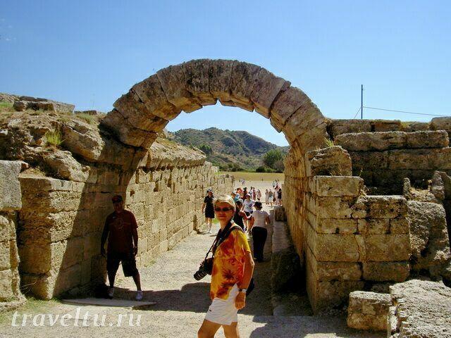 Древняя Олимпия стадион