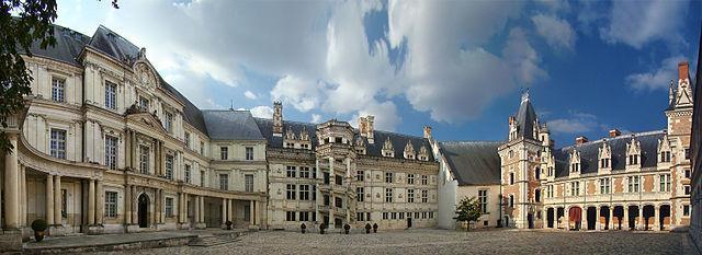 Château de Blois - Blois (Блуа), Франция - путеводитель по городу, как добраться